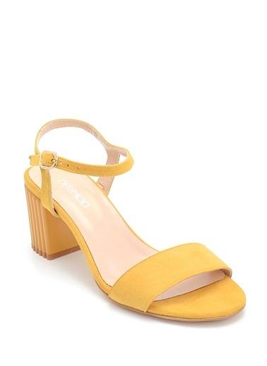 Derimod Kadın Sandalet (29701) Klasik Sarı